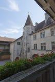 Chateau de Gruyères, Switzerland stock images