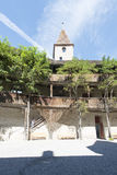 Chateau de Gruyères, Switzerland stock photo