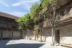 Chateau de GruyA reses,瑞士 库存照片