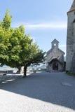 Chateau de GruyA reses,瑞士 免版税库存照片