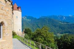 Chateau de Gruyeres Images stock