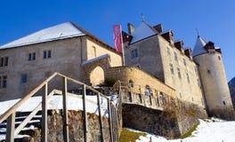 Chateau DE Gruyerey Royalty-vrije Stock Afbeelding