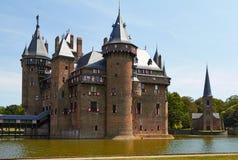 Chateau de Haar στοκ εικόνες με δικαίωμα ελεύθερης χρήσης