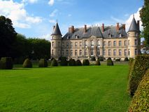 Chateau de Haroue 02, France stock photography
