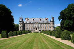 Chateau de Haroue, near Nancy, France. The château de Craon, also known as the château d'Haroué or palais d'Haroué is a French château  located in a small Royalty Free Stock Image