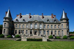 Chateau de Haroue, near Nancy, France. The château de Craon, also known as the château d'Haroué or palais d'Haroué is a French château  located in a small Stock Images