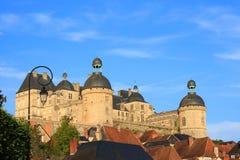 Chateau de Hautefort (Dordogne, France) Stock Image