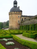 Chateau de Hautefort ( France ) Royalty Free Stock Photography