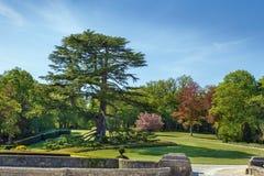 Chateau DE Hautefort, Frankrijk stock fotografie