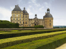 Chateau DE Hautefort - Frankrijk Stock Afbeeldingen