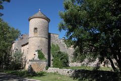 Chateau de Javon Royalty Free Stock Photos