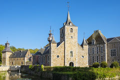 Chateau de Jehay Castle στοκ εικόνα