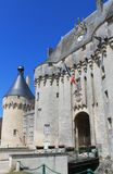 Chateau de Jonzac.  ( France ) Royalty Free Stock Image