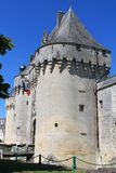 Chateau de Jonzac.  ( France ) Stock Images