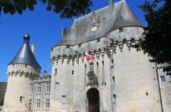 Chateau de Jonzac.  ( France ) Stock Photography