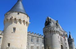 Chateau de Jonzac. ( France ) royalty free stock photos