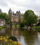 Chateau De Josselin Lizenzfreies Stockfoto