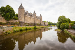 Chateau de Josselin Stock Images