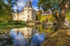 The chateau de l'Islette, France. Stock Images