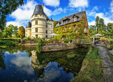 The chateau de l'Islette, France. Located in the Loire Valley Royalty Free Stock Photo