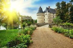 The chateau de l'Islette, France. Stock Photo