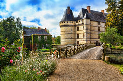 The chateau de l'Islette, France. Royalty Free Stock Photos