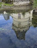 The chateau de l `Islette, France royalty free stock photos