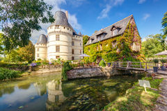 The chateau de l'Islette, France Royalty Free Stock Photography