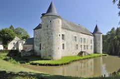 Chateau de la cour, rumigny, ardennes Stock Photo