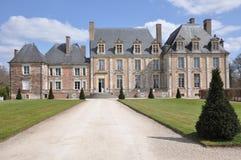 Chateau de la Ferté Saint Aubin fotografie stock libere da diritti