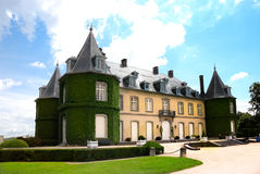 Chateau De La Hulpe - South Of  Bruxelles Belgium Stock Image