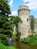 Chateau de la Hunaudaye, Pledeliac ( France ) Stock Image
