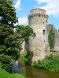 Chateau de la Hunaudaye, Pledeliac ( France ) Stock Image