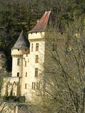 Chateau de La Malartrie, La Roque-Gageac (Frankreich) Lizenzfreies Stockfoto