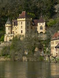 Chateau de La Malartrie, La Roque-Gageac (Frankrike) Royaltyfri Foto
