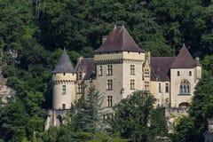 Chateau de la Malartrie - La Roque-Gageac - Dordogne - Frankrike Royaltyfri Foto