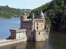 Chateau de la Roche, Saint Priest la Roche, France Royalty Free Stock Photo
