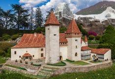 Chateau de La Sarraz, Suiza Fotos de archivo
