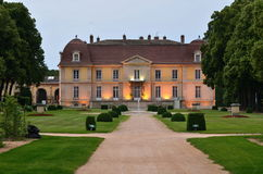 Chateau de Lacroix laval Lizenzfreies Stockbild
