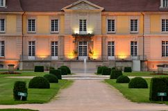 Chateau de Lacroix laval Stockbild