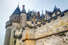 The Chateau de Langeais, France Royalty Free Stock Images