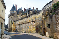 The Chateau de Langeais, France Stock Images