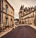 The Chateau de Langeais, France. Royalty Free Stock Images