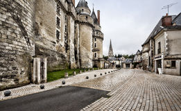 The Chateau de Langeais, France. Located in Langeais in the Loire Valley Stock Image