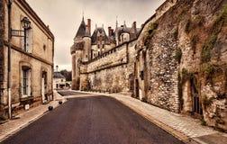The Chateau de Langeais, France. Stock Image
