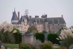 Chateau de Langeais, le Val de Loire, France Photographie stock