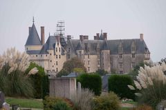 Chateau de Langeais, Loire Valley, Frankreich stockfotografie