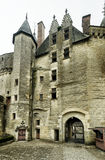 The Chateau de Langeais, old castle in France Royalty Free Stock Photos