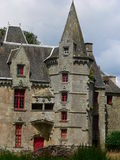 Chateau de Lanrigan Royalty Free Stock Photography