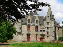 Chateau de Lanrigan Stock Photos